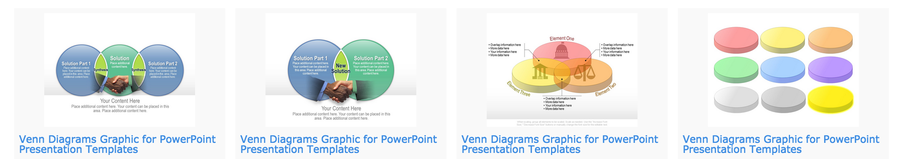 download venn diagram templates for powerpoint, Modern powerpoint