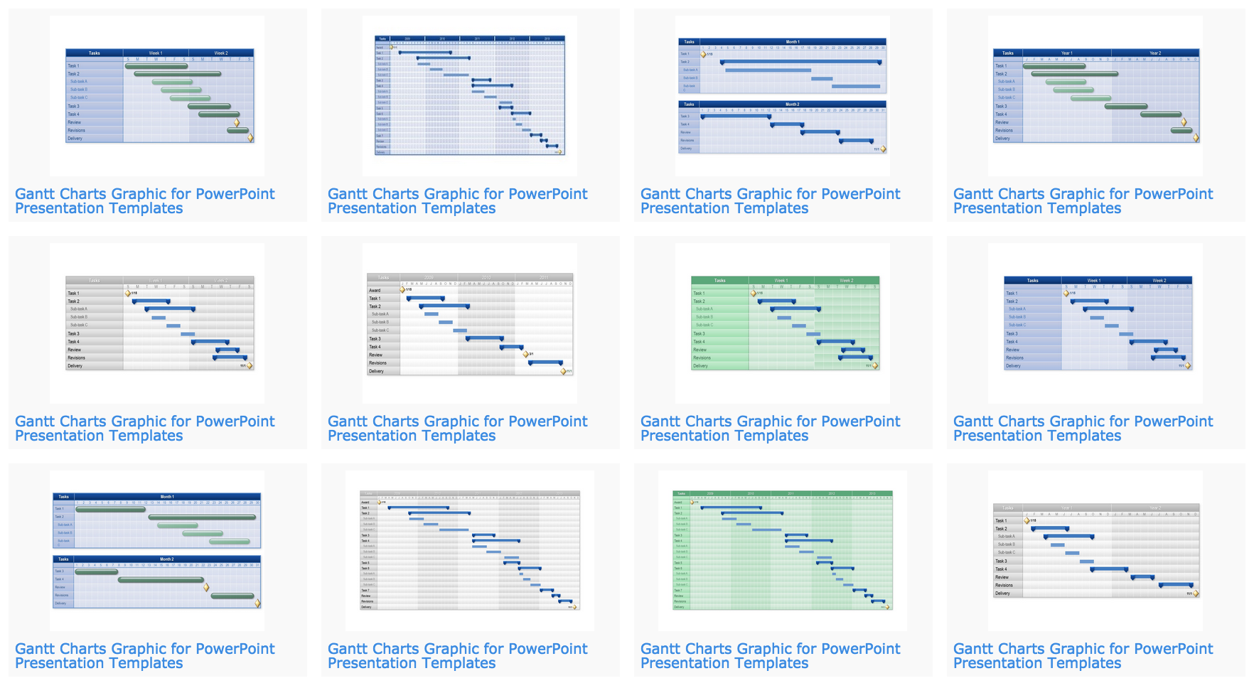 Subscribe and get access to gantt chart templates for powerpoint gantt charts nvjuhfo Gallery