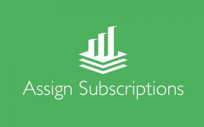How to assign subscriptions to other users