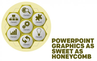 PowerPoint Graphics as Sweet as Honeycomb