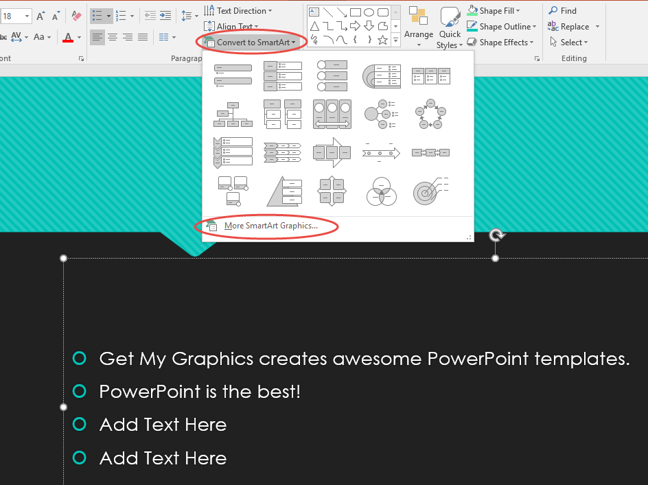 get more powerpoint themes