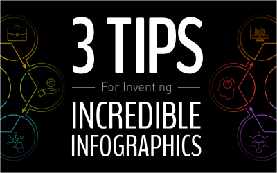 3 Tips For Inventing Incredible Infographics