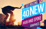 Get Rolling with these 40 New Hub and Spoke Graphics