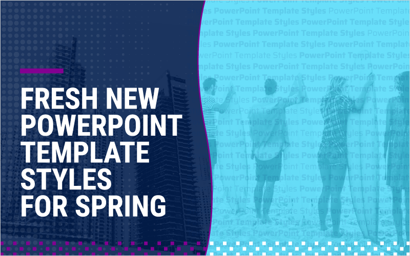 Fresh New PowerPoint Template Styles for Spring